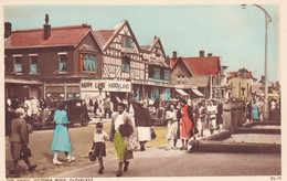 Postcard The Savoy [ Cinema ] Victoria Road Cleveleys [ Blackpool ] Lancashire Animated My Ref  B11941 - Blackpool