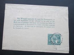 Australien Queensland Streifband. For Newspapers - Briefe U. Dokumente