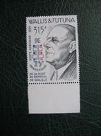 Timbre Wallis Et Futuna   Charles De Gaulle Neuf **  N°  190 - Wallis-Et-Futuna