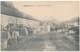 GLANDIEU - Quartier Des Usines - Taille De Pierre - France