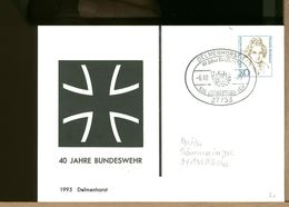 DEUTSCHE - GANZSACHEN - DELMENHORST 40 Jahre BUNDESWEHR - Militaria