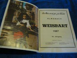 Weisbart Almanach 1987 / 1022-15 / 40at1 - Calendars