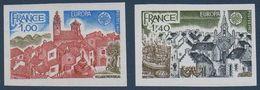FRND 1977   Paire Europa (Provence, Bretagne) N° YT 1928-1929 ** MNH - France