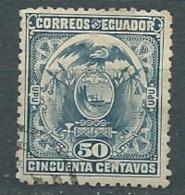 Equateur  -   -  Yvert N°  114 Oblitéré     Po56617 - Ecuador