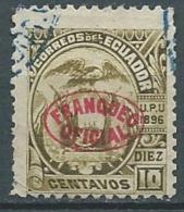 Equateur - Service  - Yvert N°  37 Oblitéré    -  Po56639 - Ecuador