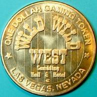 $1 Casino Token. Wild Wild West, Las Vegas, NV. J64. - Casino