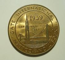Medal * Golden Gate International Exposition * 1939 - USA