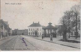 Markt En Kiosk 1907 - Peer