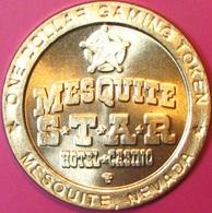 $1 Casino Token. Mesquite Star, Mesquite, NV. J65. - Casino