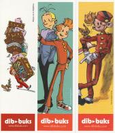3 Marque Page BD Editions DIB BUKS (Espagne) Pour SPIROU Par PARME , MUNUERA , YOANN - Marcapáginas