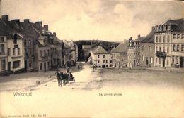 Walcourt - La Grand Place (animée, Attelage) - Walcourt