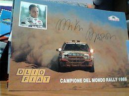 Lancia Delta INT. MARTINI HF - Miki Biasion - Rallye Safari CAMPIONE DEL MONDO1988 OLIO FIAT N1988 GN21573 - Rally Racing
