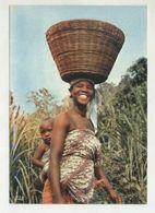 ANGOLA, Ethnic, Woman (2 Scans ) - Angola
