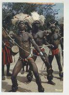 ANGOLA, Ethnic, Men, Dancers  (2 Scans ) - Angola