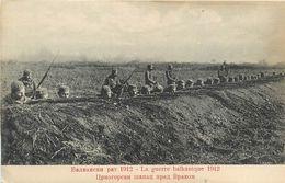 GUERRE BALKANIQUE - 1912 - POSITIONS SERBES - Andere Oorlogen