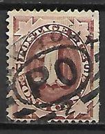 ETATS - UNIS   -   TAXE   -  1887 .   Y&T N° 8 Oblitéré . - Postage Due
