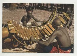 ANGOLA, Ethnic, Man, Balafon Players  (2 Scans ) - Angola