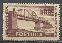Portugal 1952. Scott #757 (U) Marshal Carmona Bridge - 1910-... République