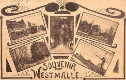 Souvenir De Westmalle (multi Vues, Uitg. Claes-Verhoeven) - Malle