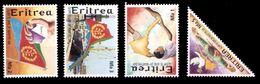 (024) Eritrea  Liberation / Martyrs / Befreiung / Tringle Stamp / Dreieckig  ** / Mnh  Michel 283-86 - Eritrea