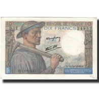 France, 10 Francs, 1942-10-15, KM:99d, SPL, Fayette:8.4 - 1871-1952 Circulated During XXth