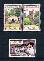 Nauru 1984 Weihnachten Mi.Nr. 299/301 Kpl. Satz ** - Nauru