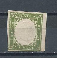 Sardaigne - Emanuel II, Nº 10b Neuf*  (15) - Sardaigne