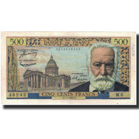 France, 500 Francs, 1954-01-07, KM:133a, TTB, Fayette:35.1 - 1871-1952 Circulated During XXth