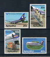 Nauru 1985 Flugzeuge Mi.Nr. 302/05 Kpl. Satz ** - Nauru
