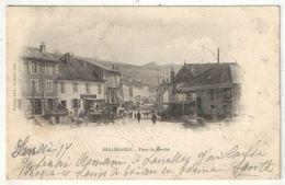 01 - BELLEGARDE - Place Du Marché - Edition Vialatte - 1903 - Bellegarde-sur-Valserine