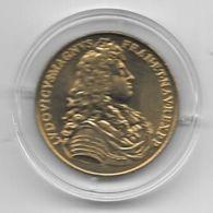 MEDAILLE TOURISTIQUE MONNAIE DE PARIS MOSELLE LOUIS XIV  SOUS CAPSULE ET BOITIER BLEU MDP - Monnaie De Paris