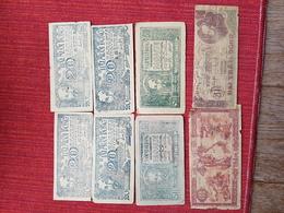 Lot De 14 Billets Viet-Nam Ho Chi Minh Guerre Du Vietnam ???? Pour L'état Voir Les Photos - Vietnam