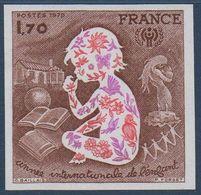 FR ND 1979 Année Internationale De L'Enfant    N° YT 2028 ** MNH - France