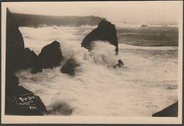 Rough Sea, The Lizard, Cornwall, C.1920s - Hawke RP Postcard - England