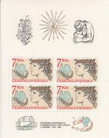 Tschechoslowakei-Block Nr.83-postfrisch - Blocks & Sheetlets