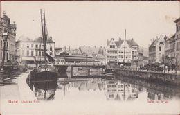 Gent Gand Quai Au Foin Binnenschip Barge Peniche - Gent