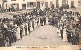 Wonck - Le Cramignon De L'Union Fraternelle (top Animation 1912 ....coin) - Bassenge