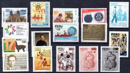PERU, Stamps Of 1988,Antarktic,Olympia,Sport, Mint - Peru