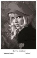 SYLVIE VARTAN - Film Star Pin Up PHOTO POSTCARD - A1649-2 Swiftsure Postcard - Postcards