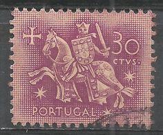 Portugal 1956. Scott #763A (U) Equestrian Seal Of King Diniz - 1910-... République