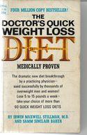 THE DOCTOR S QUICK WEIGHT LOSS DIET BY STILLMAN ET SAMM SINCLAIR BAKER - Books, Magazines, Comics