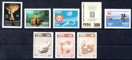 PERU, Stamps Of 1985, Mint - Peru