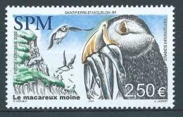 St Pierre Et Miquelon - 2002  - Les Grands Migrateurs -Le Macareux Moine -  PA 82 - Neuf ** - MNH - Neufs
