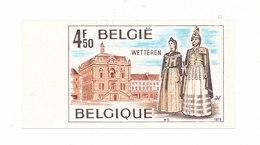 Ongetand Wetteren Postzegel De Reuzen - Belgique