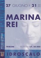 PROMOCARD N°  628  ESTATE ALL' IDROSCALO MARINA REI - Reclame