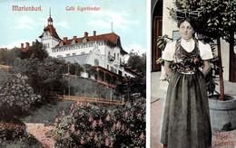 Tchéquie - Marienbad - Café Egerländer - Eger Länderin - Scènes Et Types - Tchéquie