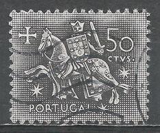 Portugal 1953. Scott #764 (U) Equestrian Seal Of King Diniz - 1910-... République