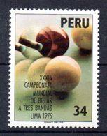 PERU,1979,Billard Lima,1139 Mint - Peru