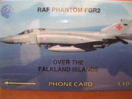 """Télécarte Des Falkand """"avions"""" - Falkland Islands"""