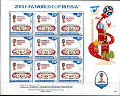 TOGO 2018 FIFA WORLD CUP FOOTBALL SOCCER RUSSIA 2018 4 SHEETS - World Cup